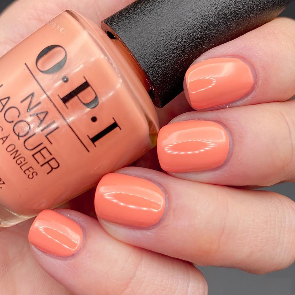 The OPI Classic ''Coral Your Spirit Animal''